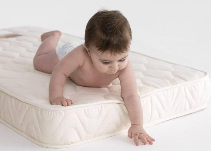 Матрас в кроватку для новорожденных (56 фото): какой детский матрас лучше выбрать для младенца