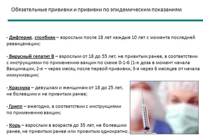 Прививка корь-краснуха-паротит