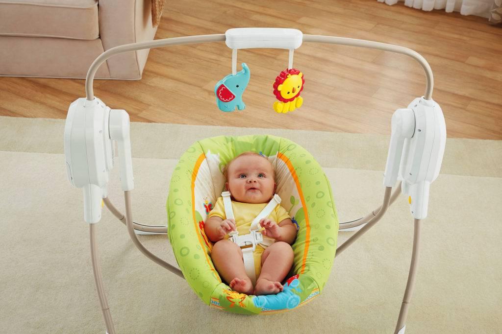 Выбираем лучшие электрокачели для новорожденных в 2021 году