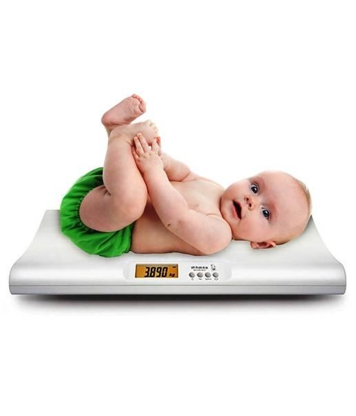 Вес грудничка. нормы веса у грудничков по месяцам в таблице