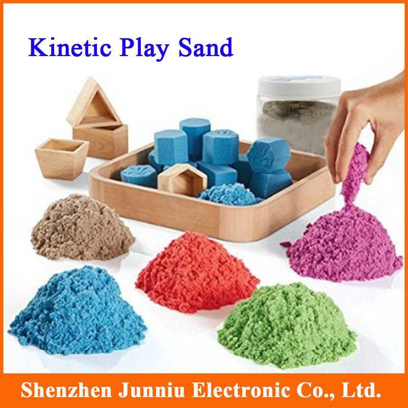 Что такое кинетический песок?