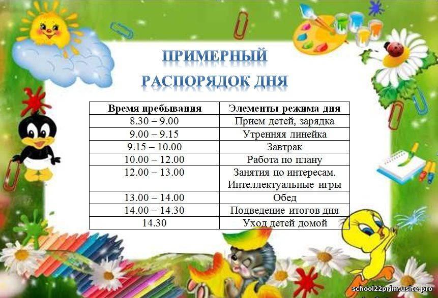 Примерный режим дня ребенка в 3 года таблица по часам  не посещающего детский сад и посещающего   семья и мама