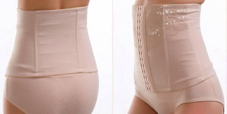 Когда надевать, как выбрать и правильно носить бандаж после родов