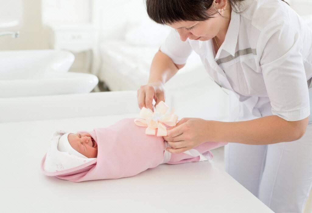 Уход за новорожденным — в первый месяц и первые дни жизни