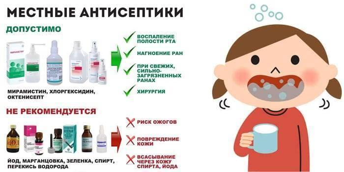 Лечение вирусного, гнойного, афтозного и острого стоматита у детей. лечение стоматита у маленьких детей в цэлт