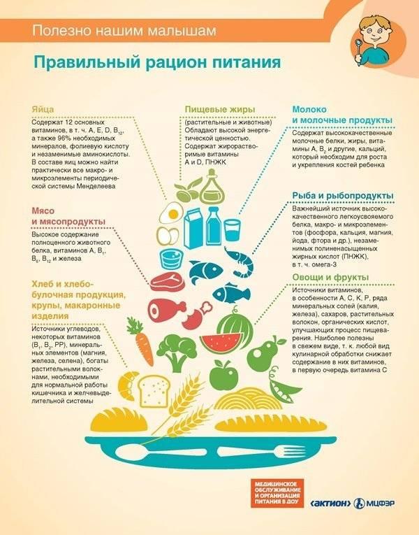 Что можно кушать ребенку при кишечной инфекции
