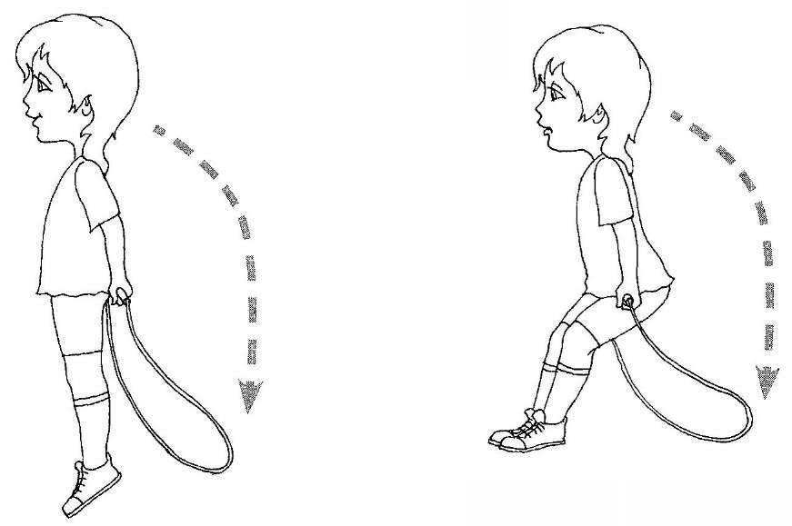 Комплекс упражнений со скакалкой в школе