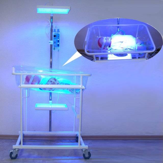 Лампа от желтушки для новорожденного: показания, инструкция, выбор