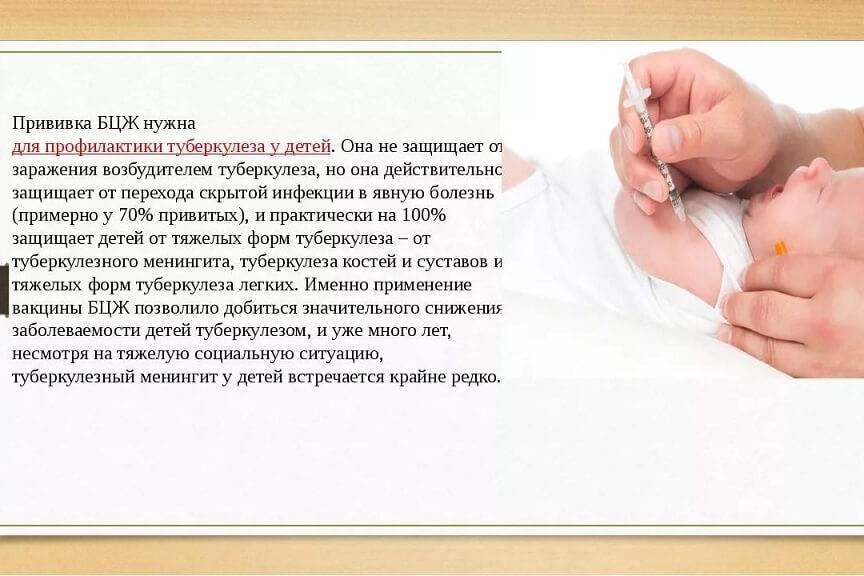 Я укола не боюсь. история прививки бцж