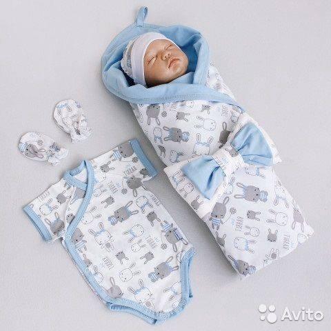 Комплект на выписку из роддома летом для новорожденного для мальчика , летняя одежда, что входит в набор для девочки, кимбинезон