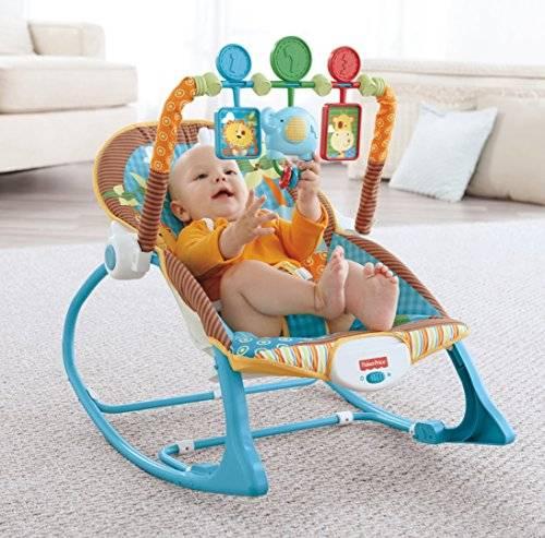 Рейтинг лучших детских шезлонгов для новорожденных