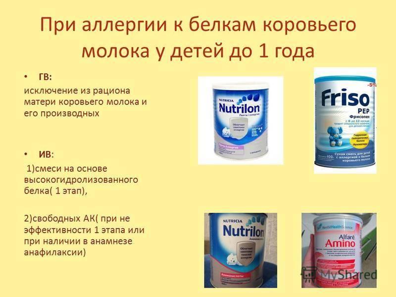 Непереносимость молочного белка - пищевая непереносимость белка