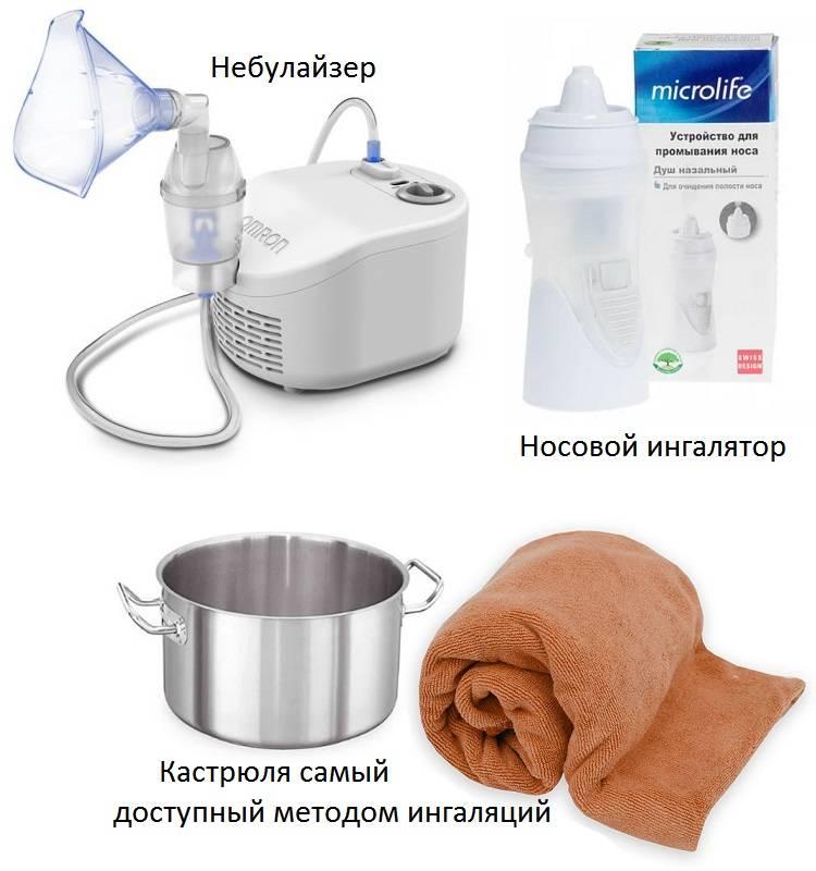 Растворы для ингаляции от насморка применяемые в ингаляторах