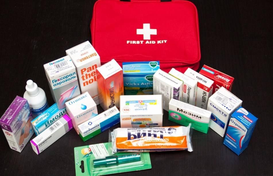 Аптечка в дорогу с ребенком – советы и список лекарств