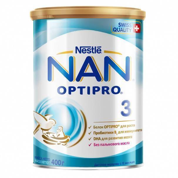 Молочные смеси nan: о составе и преимуществах рассказывает врач-педиатр. детское питание «nan optipro»: как разводить для новорожденных? детское питание нан 2