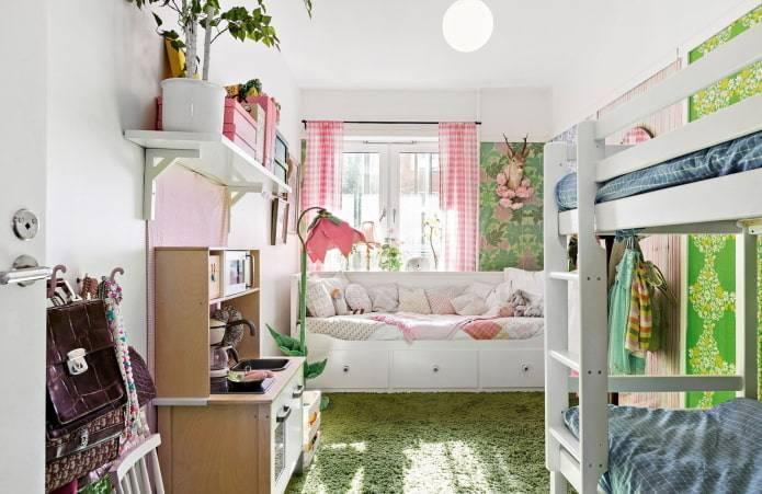 Детская для троих детей: варианты дизайна интерьера и планировки, в том числе для 3 мальчиков