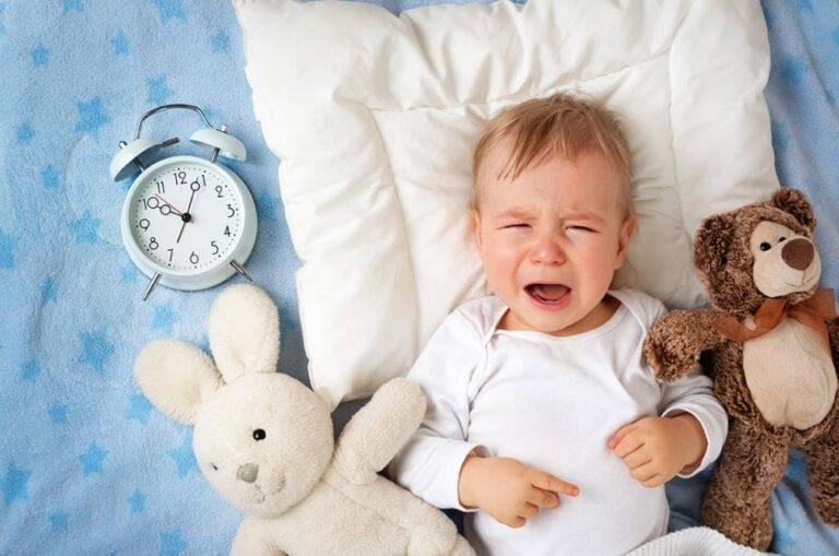 Тревожный сон 4 месячного ребёнка