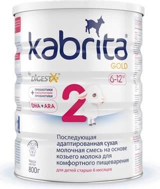 Детское питание на козьем молоке: список смесей