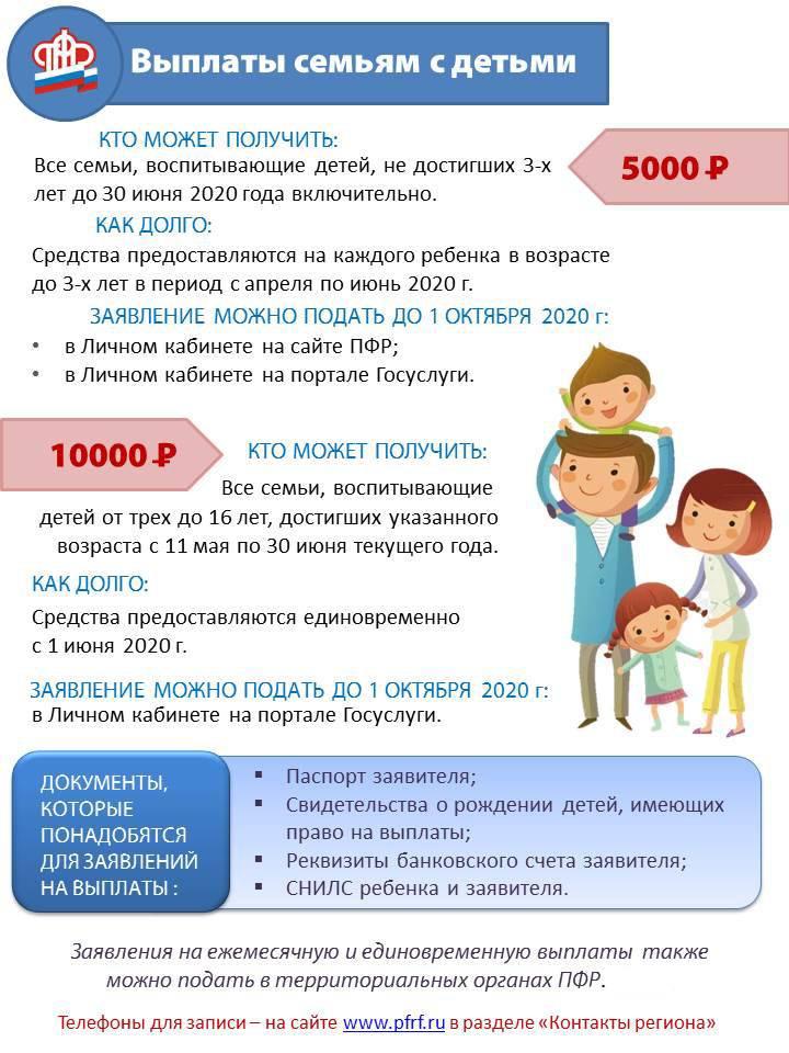 Как получить путинскую выплату 10000 рублей на ребенка от 3 до 16 лет? Разбираемся вместе с юристом