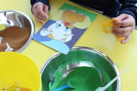 Конспект занятия «рисунки на песке». воспитателям детских садов, школьным учителям и педагогам - маам.ру