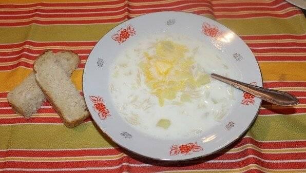 Молочный суп с вермишелью - 7 рецептов (с фото, пошагово)
