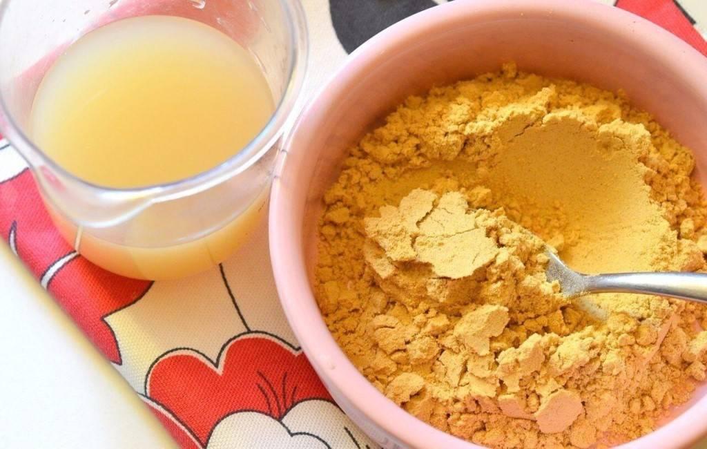 Лепешка от кашля для детей с картошкой, медом и горчицей