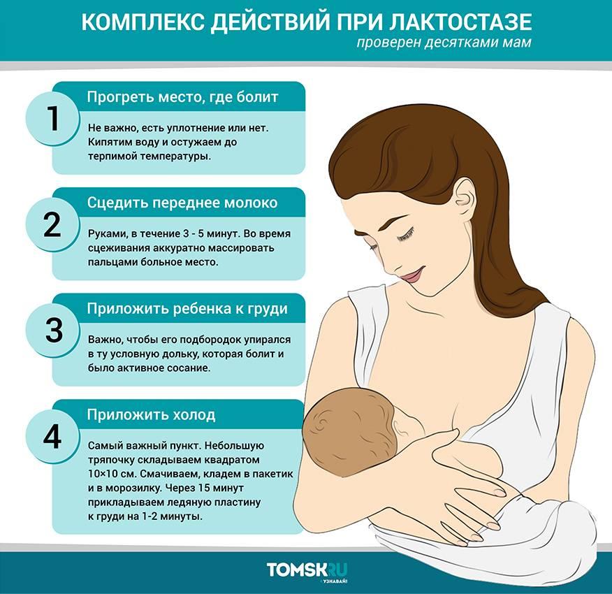"""Нагрубание молочной железы при грудном вскармливании: лечение уплотнений и """"шишек"""" у кормящей мамы в период лактации"""