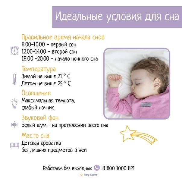 Ребенок не спит ночью. почему?